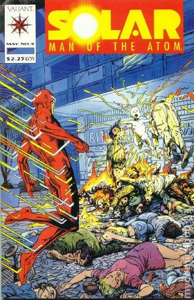 Solar Man of the Atom #10 (1992) - 1st Eternal Warrior ...