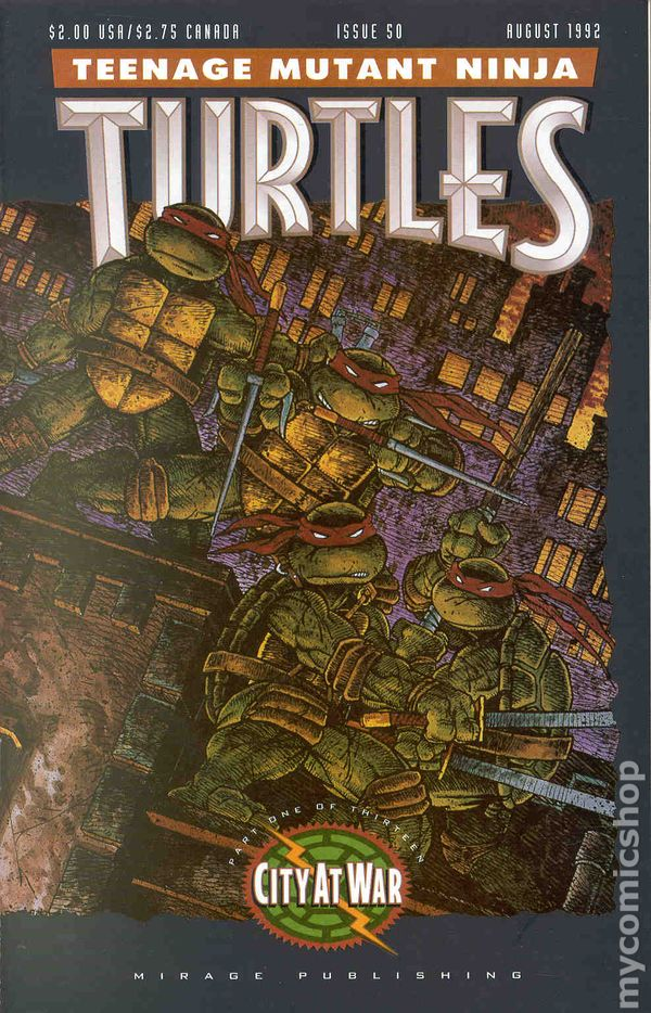 teenage mutant ninja turtles  1985  comic books