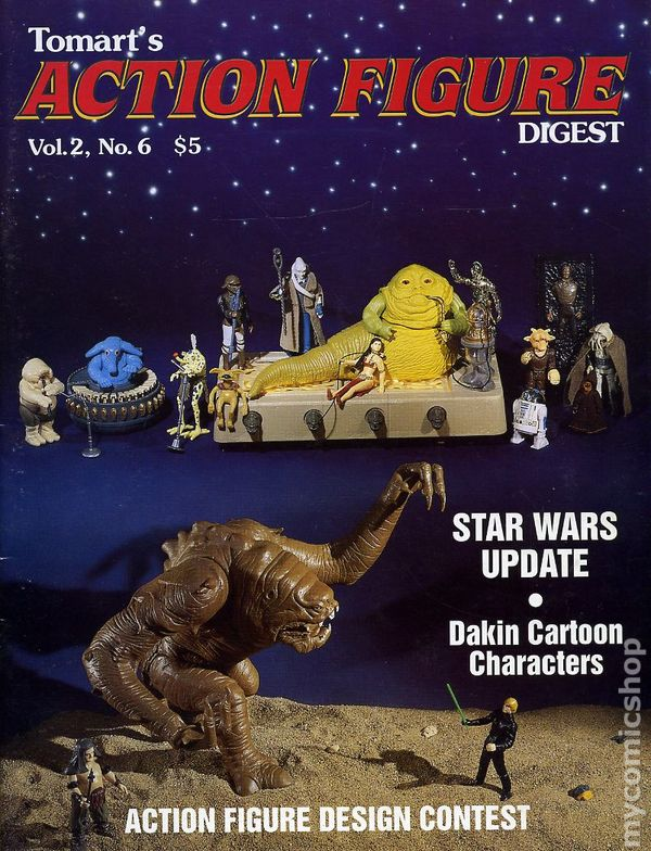 1992 Tomart's Action Figure Digest #8 Kenner Super Powers Update GI Joe