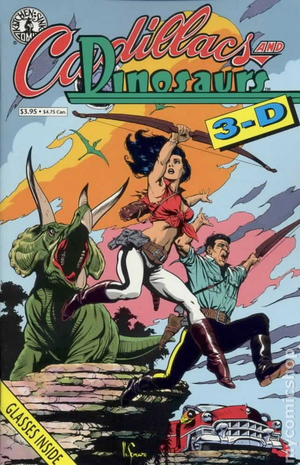cadillacs and dinosaurs 3 d 1992 comic books. Cars Review. Best American Auto & Cars Review