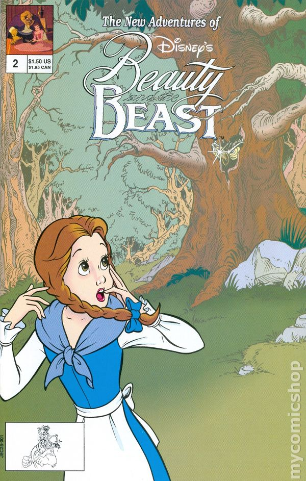 Beauty and the Beast (1992 Disney) comic books