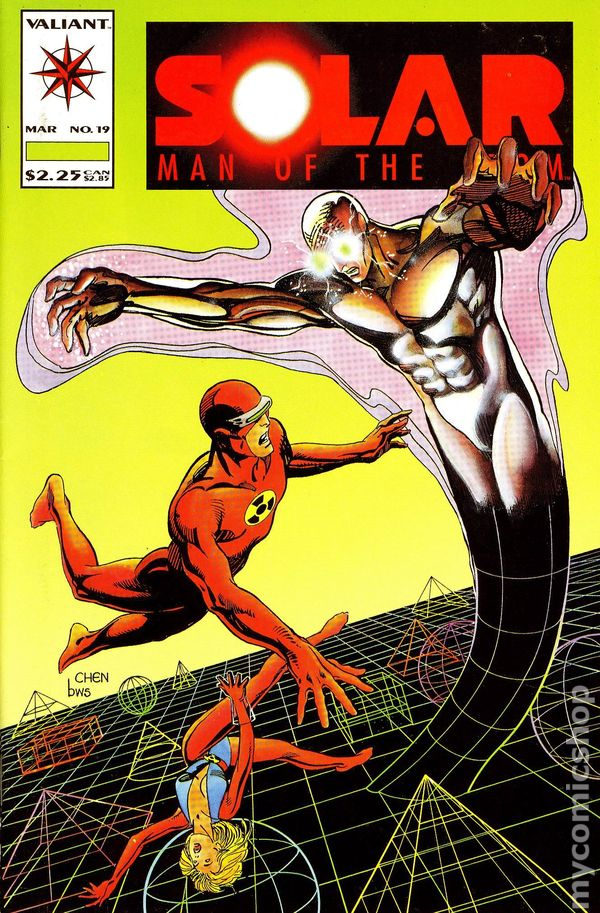 Solar: Man of the Atom (Volume) - Comic Vine