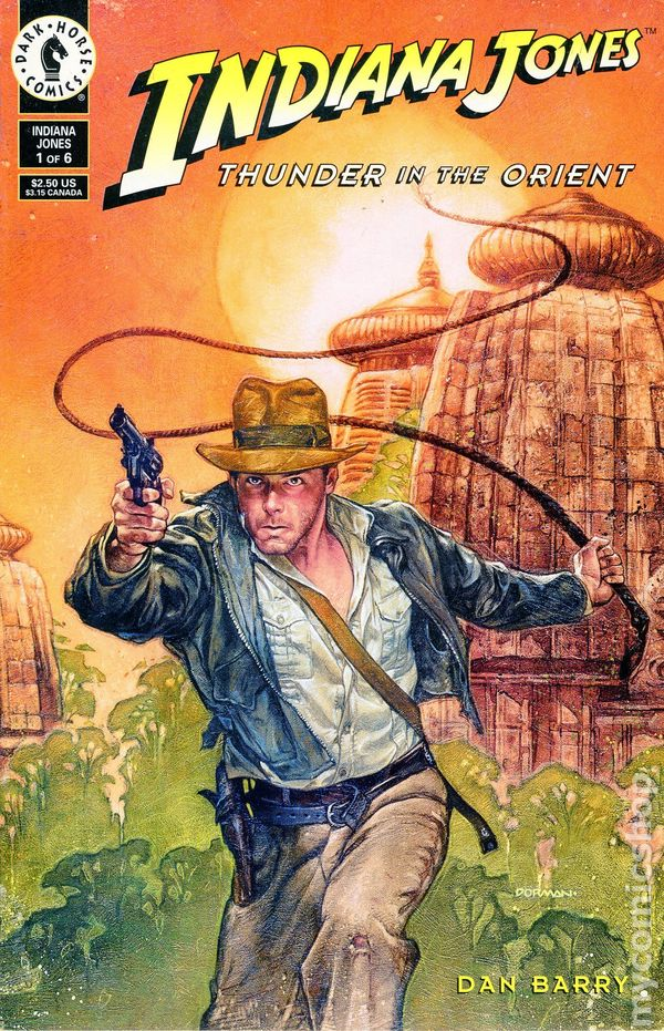 Image result for dan barry comics indiana jones covers