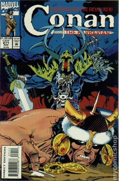 C And C >> CONAN THE BARBARIAN # 271 HIGH GRADE NM to NM+