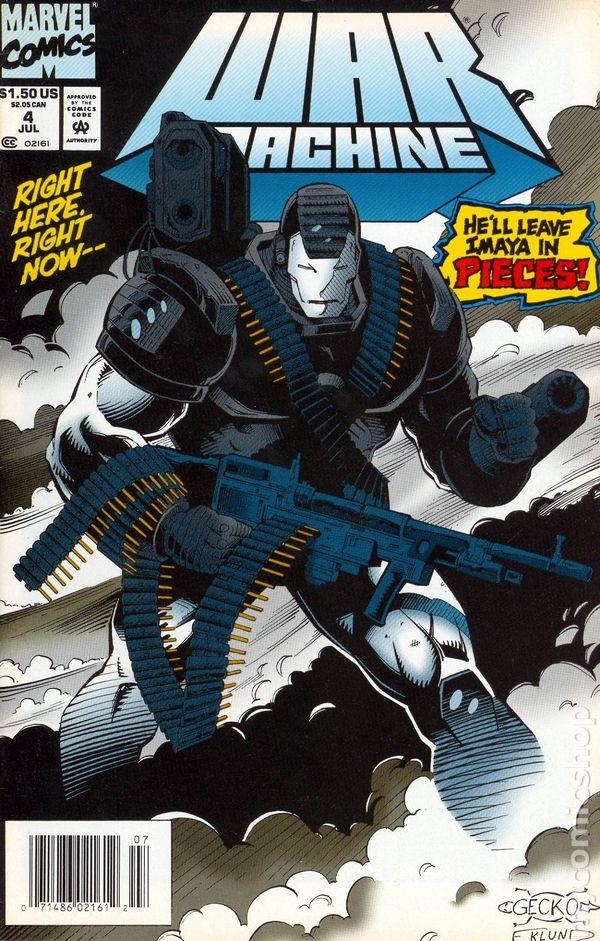 war machine comic book