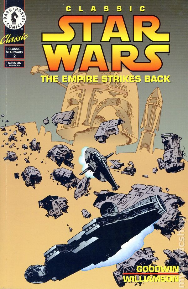 Classic Star Wars The Empire Strikes Back 1994 ic books