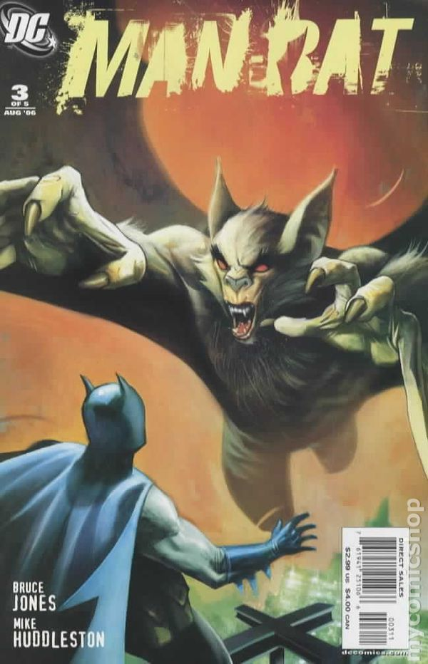Series) comic Man Bat 3rd books (2006