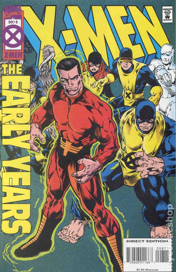 men in early years This page contains a list of all the comics included in x-men: the early years vol 1: (1994-1995) if you have found something that is not seen on this page, please add it to this list.