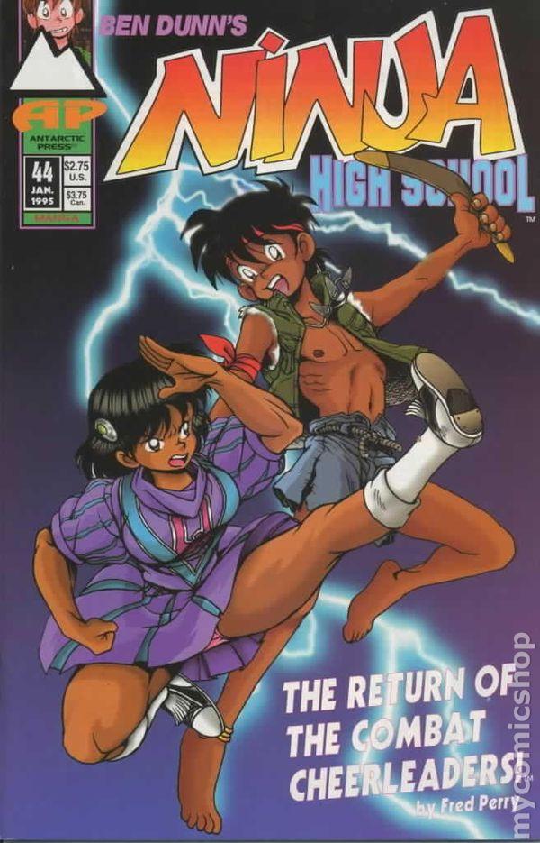 Ninja High School (1986 Antarctic/Eternity) comic books