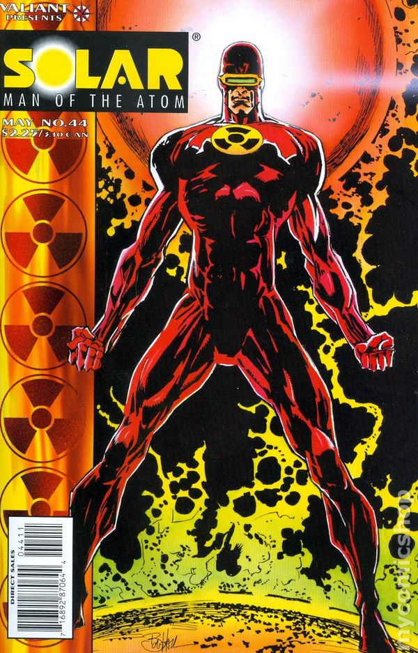 Solar, Man of the Atom: Second Death by Jim Shooter