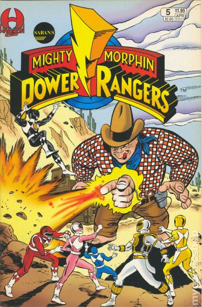 Mighty Morphin Power Rangers 1994 Comic Books
