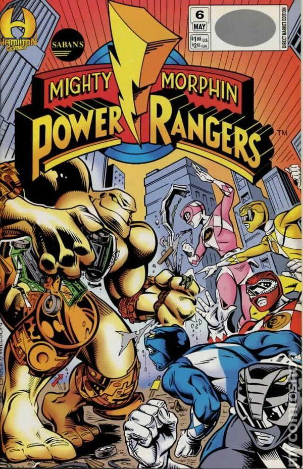Mighty Morphin Power Rangers 1994ic books
