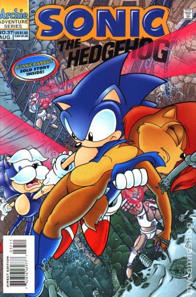 sonic the hedgehog 1993 ongoing series comic books