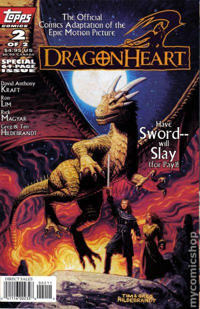 dragonheart 1996 comic books