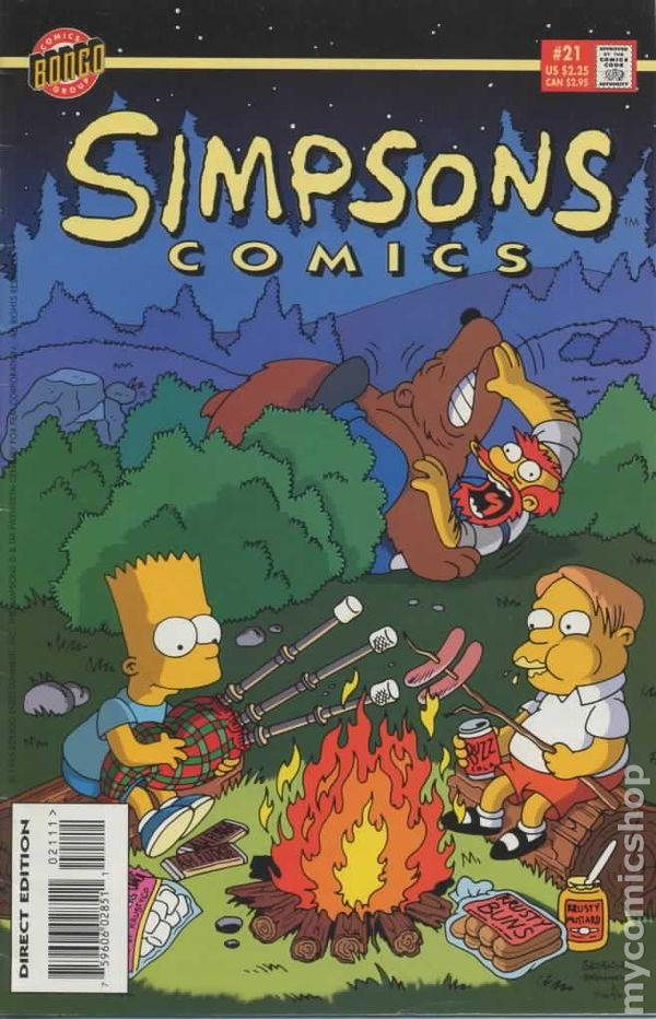 simpsons comics  1993  comic books