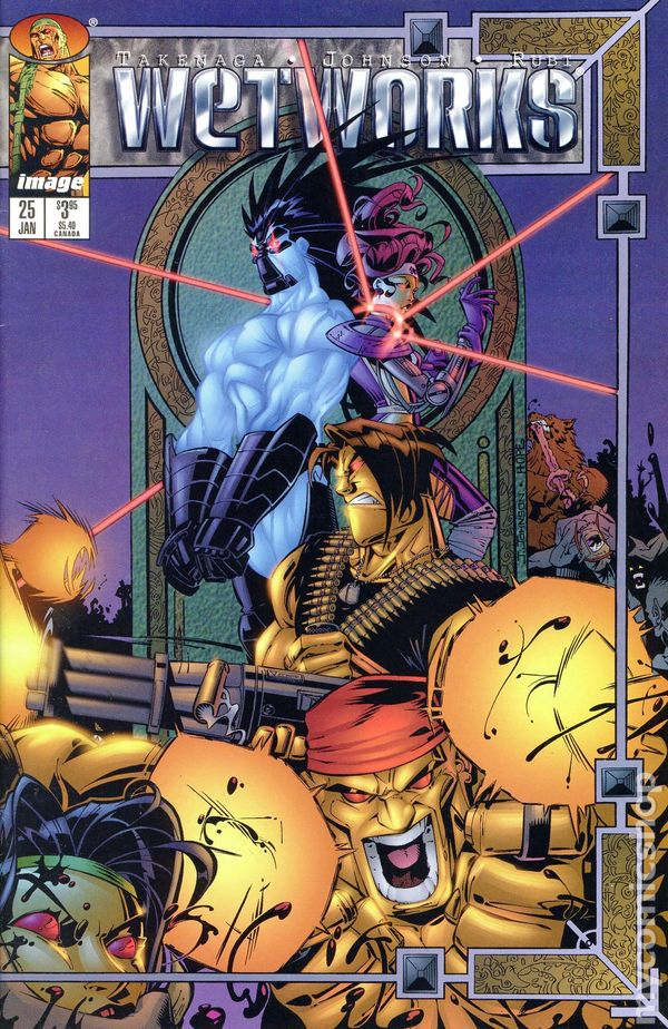 Wetworks (1994 1st Series Image) comic books