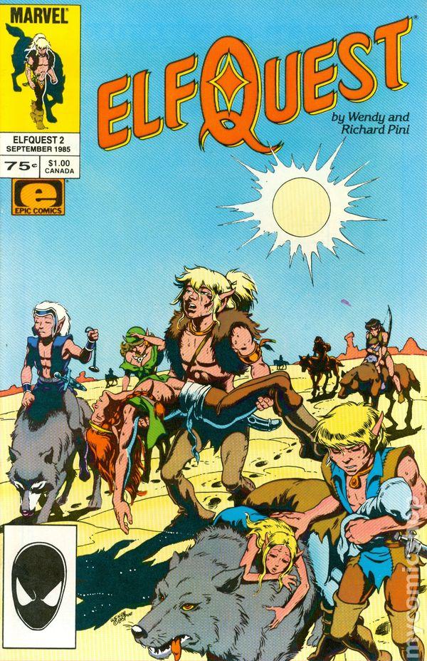 Elfquest 4  Marvel 1985