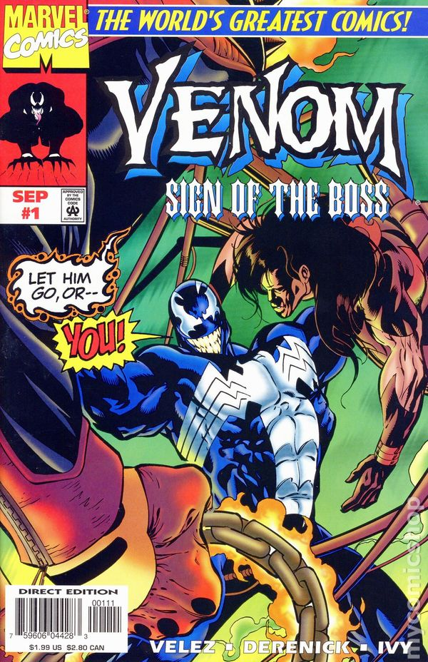 Venom sign of the boss 1997 comic books - Marvel spiderman comics pdf ...