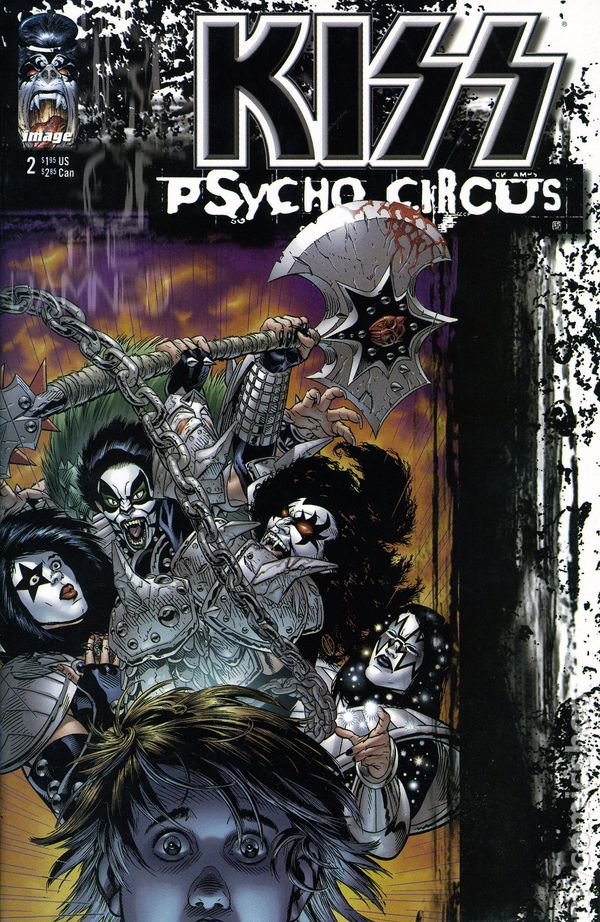 Kiss Psycho Circus (1997) comic books