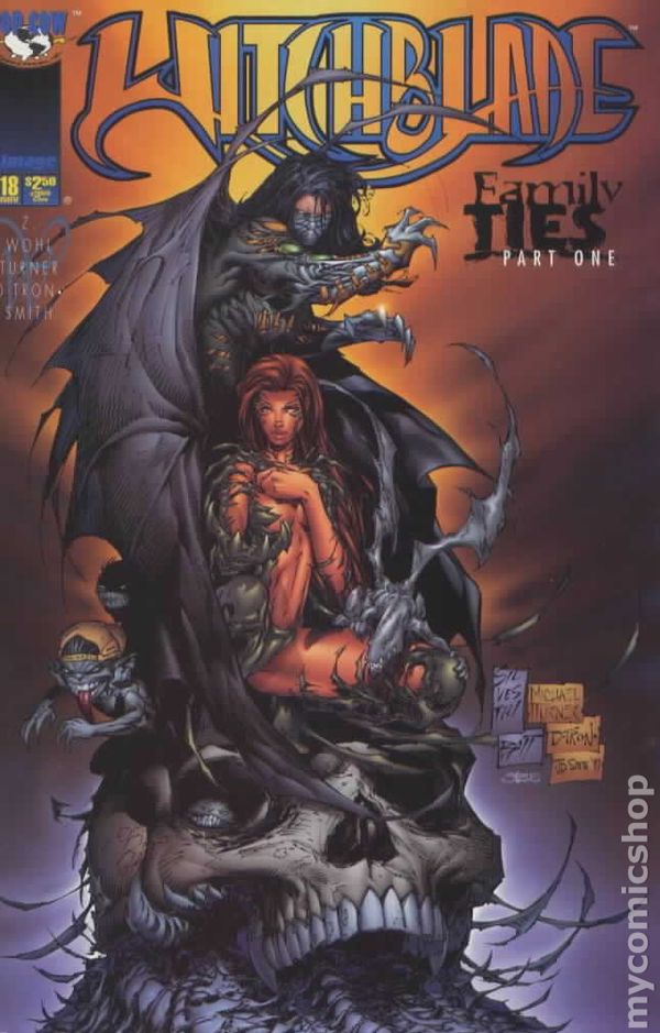 comic books in family ties