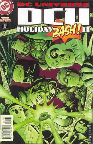 Dc Universe Holiday Bash 1997 Comic Books