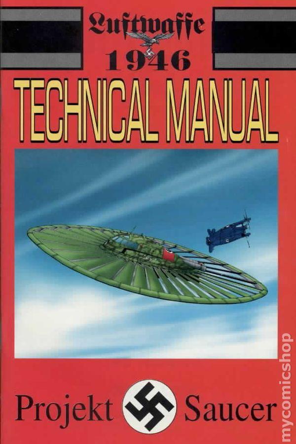 Luftwaffe 1946 Technical Manual 1998 Comic Books