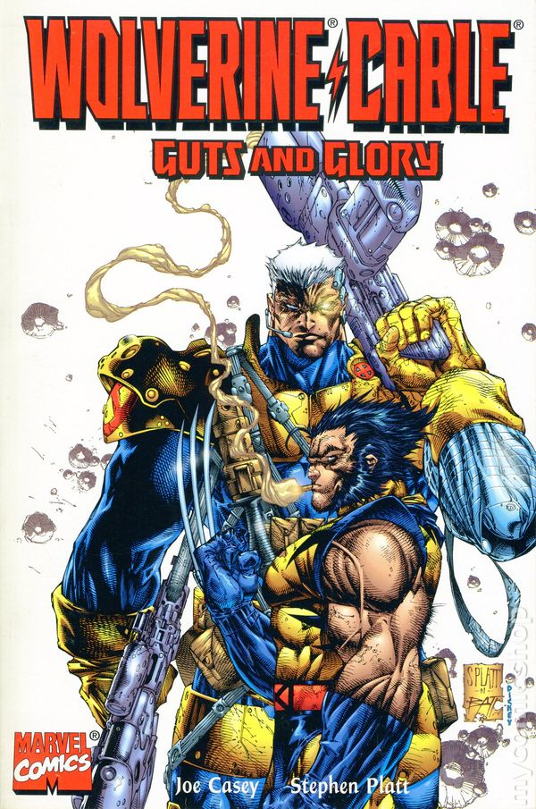 Cable appears in 108 issues in this volume