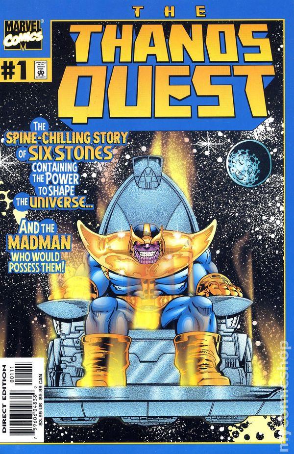 Supervillain >> Thanos Quest TPB (2000 Marvel) comic books