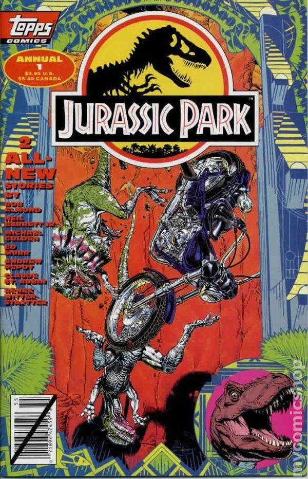 Jurassic Park Comic Books Issue 1