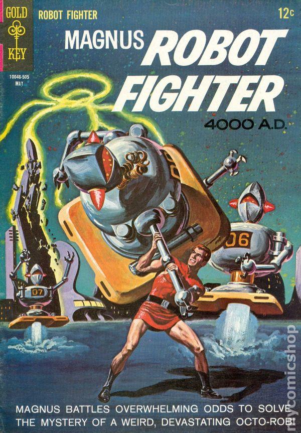 MAGNUS ROBOT FIGHTER 4000AD #30 1972 GOLD KEY COMICS