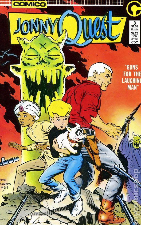 Jonny Quest 1986 Comico Comic Books