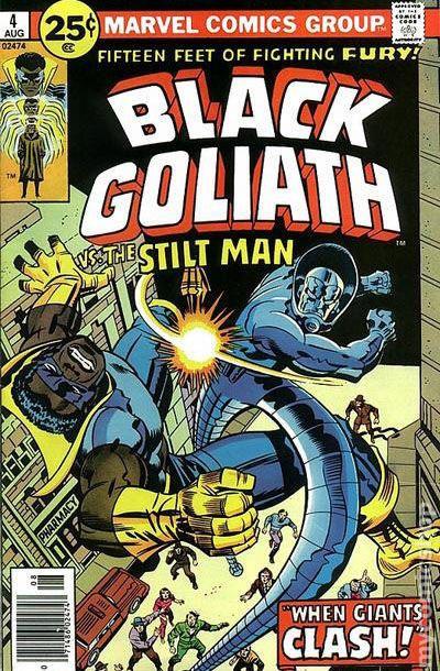 black goliath  1976 marvel  comic books