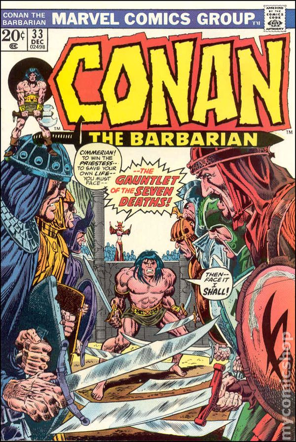 C And C >> Conan the Barbarian (1970 Marvel) comic books