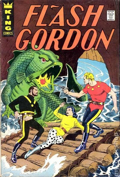 flash gordon  1966 king  charlton  gold key  comic books