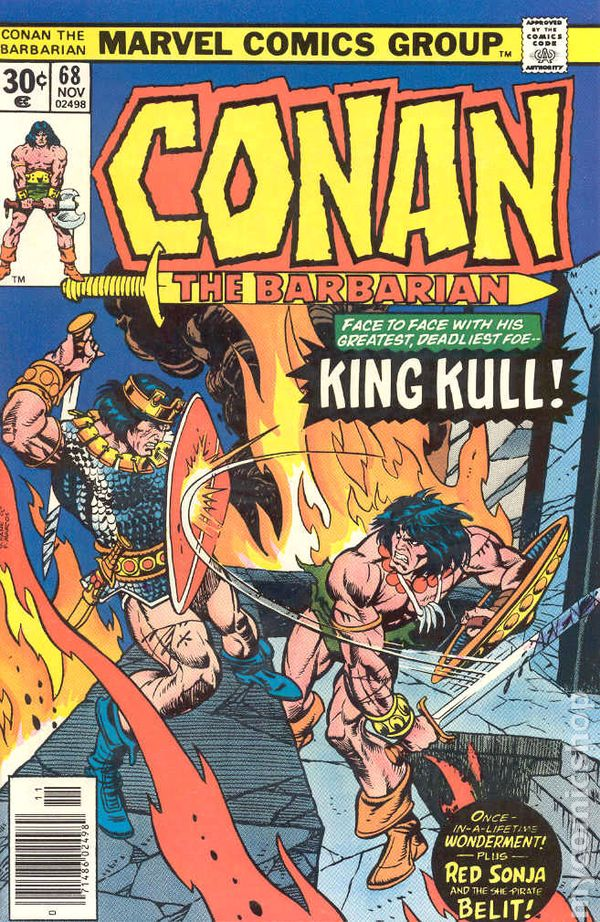 conan the barbarian  1970 marvel  comic books