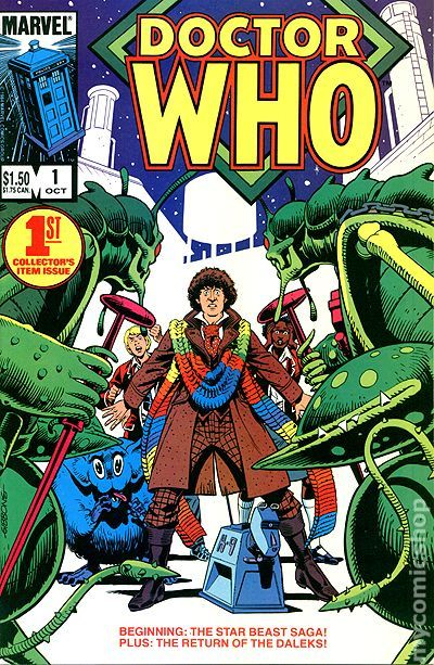 Doctor Who 1984 Marvel Comic Books With Issue Numbers 1 14