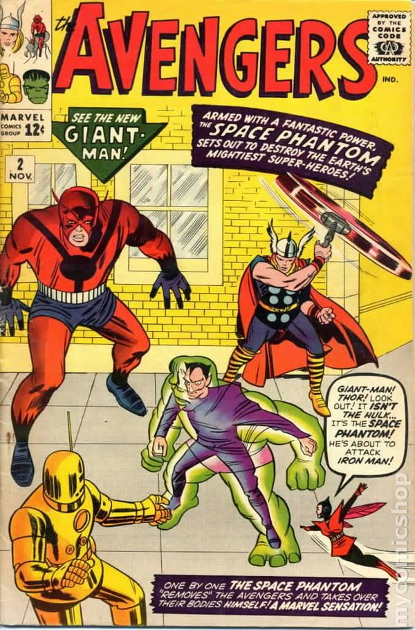 Avengers comic books issue 2 1963