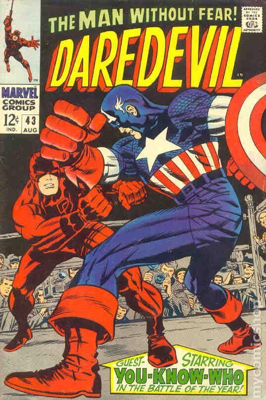 daredevil  1964 1st series  comic books