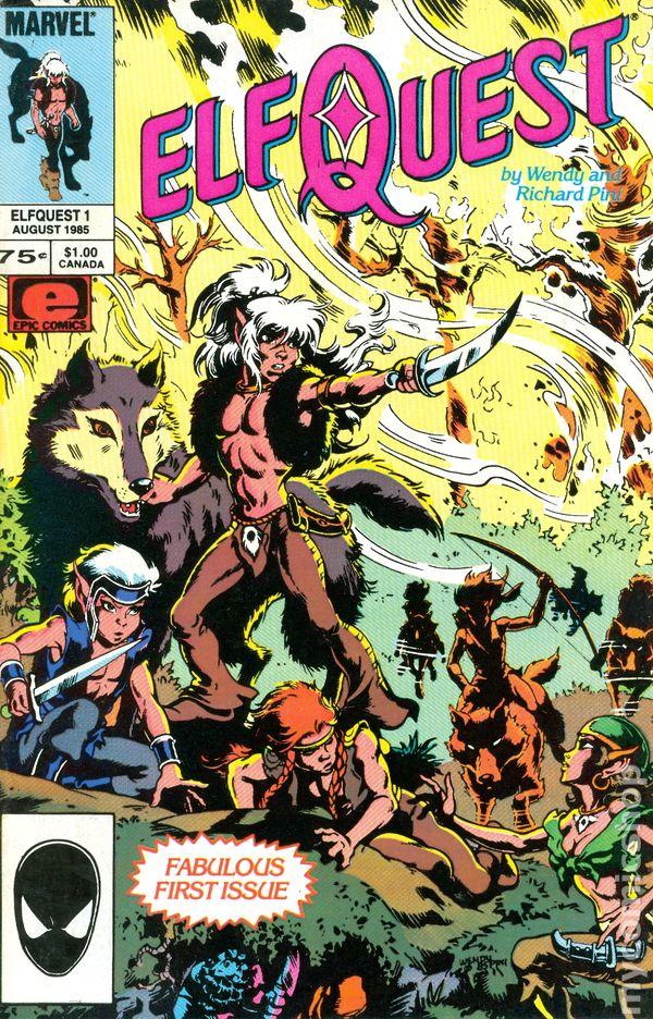 Elfquest 1985 Marvel Comic Books
