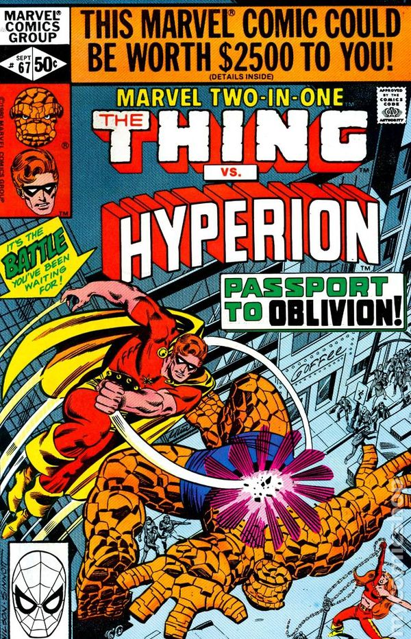 Thing + Captain America Marvel Two-In-One # 82 USA, 1981