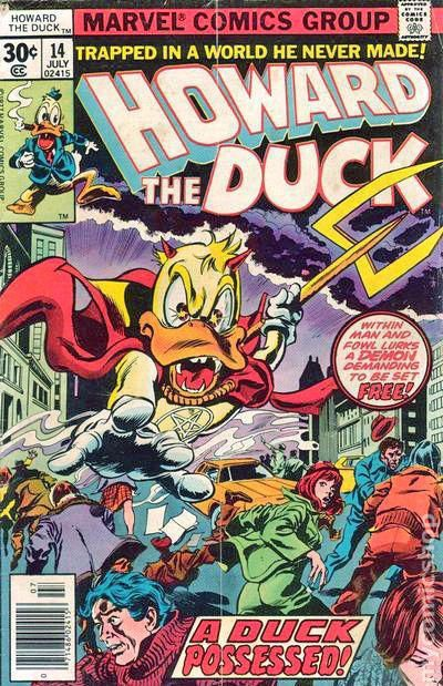 howard the duck  1976 1st series  comic books