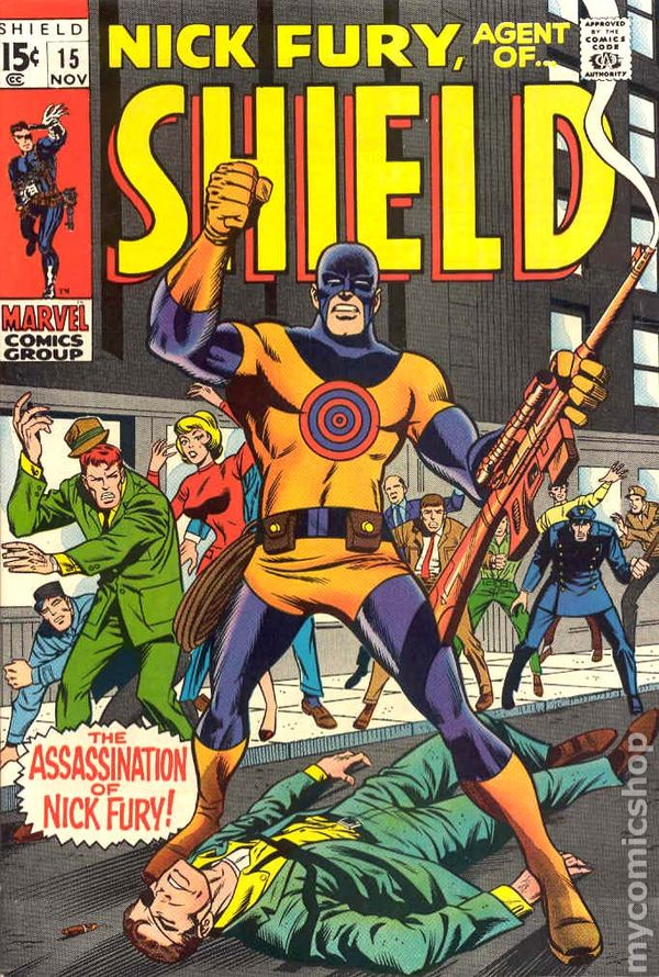 NICK FURY, AGENT OF...SHIELD - 8, 1969, Supremus, Herb Trimpe, Marvel, FN+