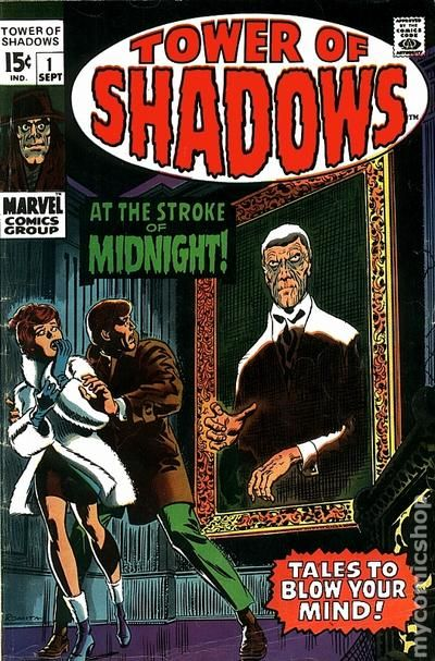 TOWER OF SHADOWS # 6 FN+ (6.5) WOOD ART- NICE MID GRADE MARVEL HORROR_1970_CENTS