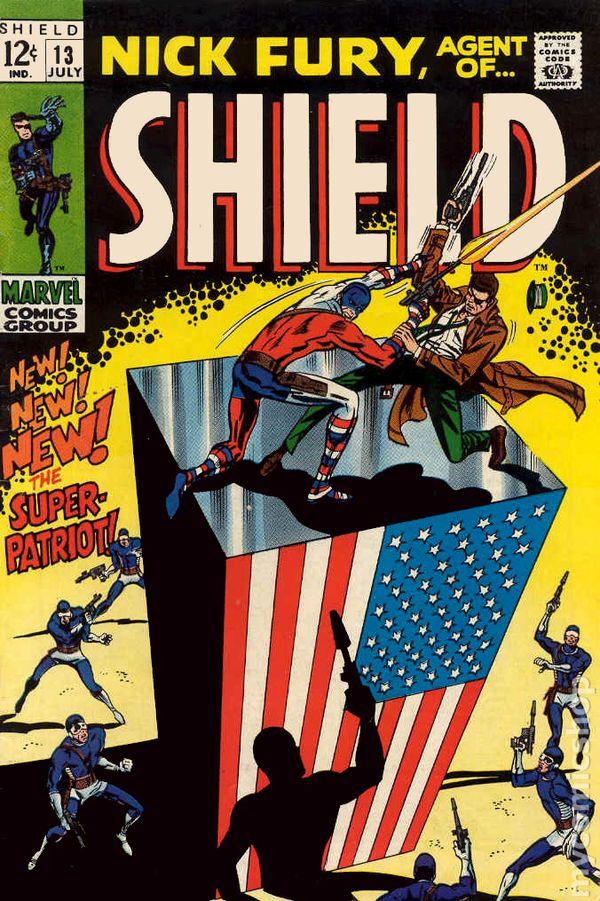 nick fury agent of shield  1968 1st series  comic books