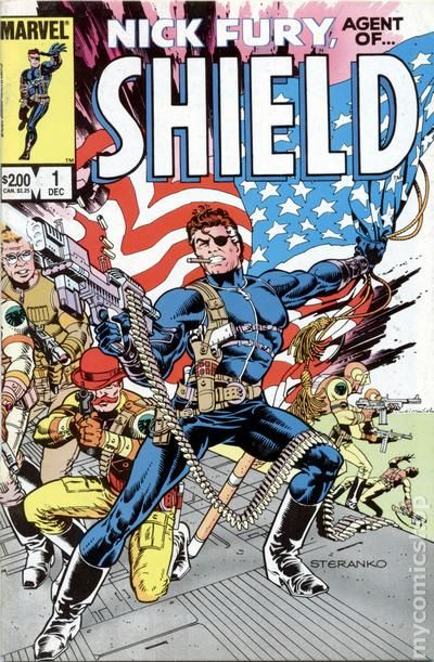 Nick Fury Agent Of S H I E L D Comic Books Issue 1