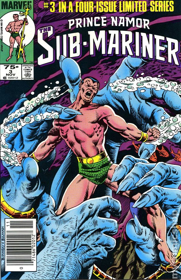 prince namor the sub mariner 1984 comic books. Black Bedroom Furniture Sets. Home Design Ideas