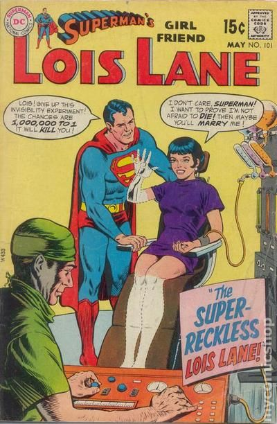 Superman S Girlfriend Lois Lane 1958 Comic Books