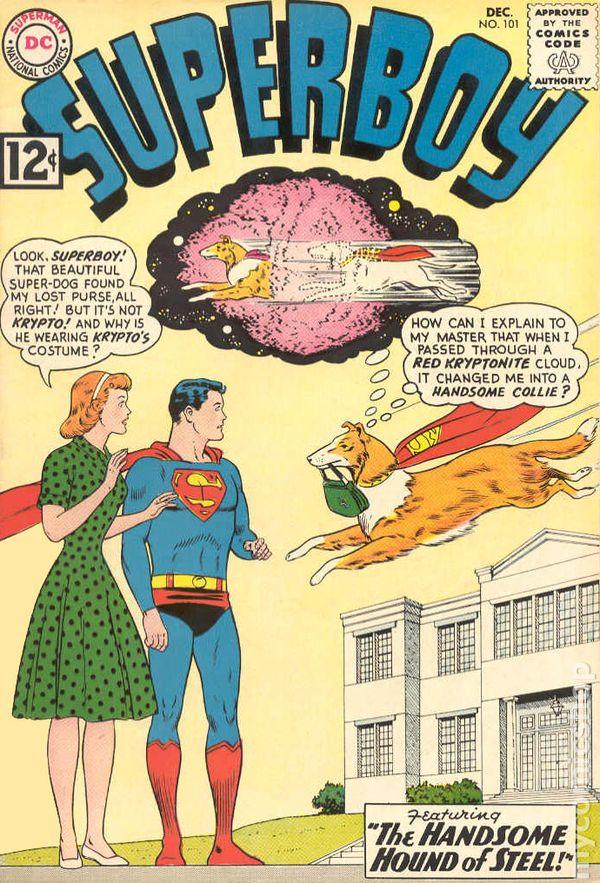 Superman 1950 Comic Superboy (1949-1979 1s...