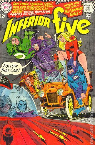 Inferior Five 1967 Comic Books