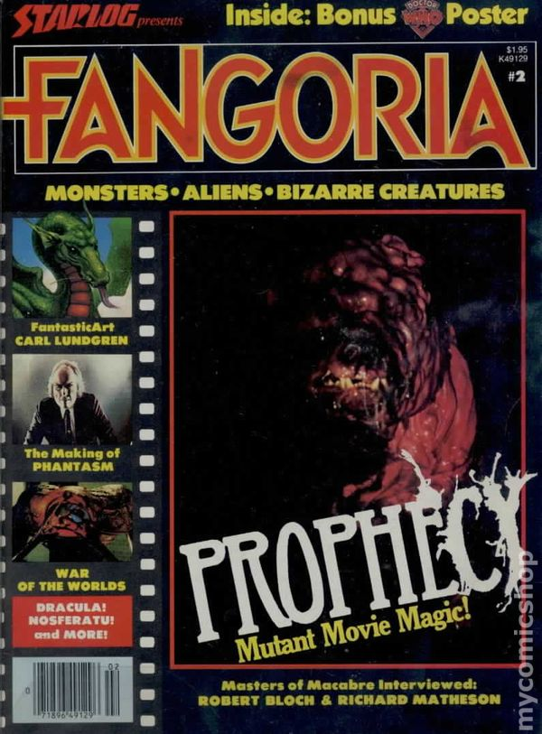 fangoria  1979  comic books